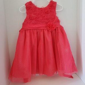 Pink la princess dress
